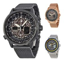 Citizen Navihawk A-T Eco-Drive Chronograph Mens Watch - Choose color