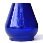 Handlan St. Louis Blue Glass W.T. Kirkman No.364, Railroad Lantern Globe