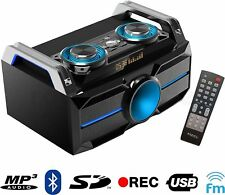 Ibiza SOUNDBOX SYSTEM SPLBOX100 Stereo Anlage Lautsprecher USB Bluetooth 120W