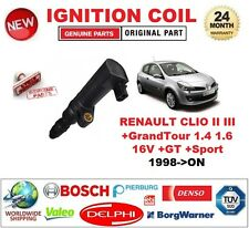 FOR RENAULT CLIO II III +GrandTour 1.4 1.6 16V +GT +Sport 1998-ON IGNITION COIL