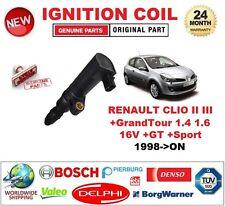 Para RENAULT CLIO II III + GRANDTOUR 1.4 1.6 16V + GT + Sport 1998-ON Bobina De Encendido