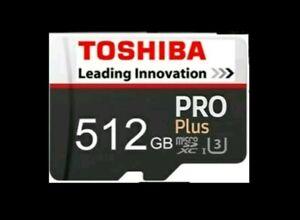 Markenlos 512 GB SD Karte Neu