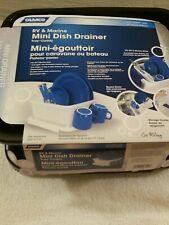 Mini Dish Drainer Tray Rack Storage Sink RV Camper Part Camco Kitchen Accessory