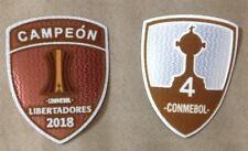 RIVER PLATE COPA LIBERTADORES 2018 SET CAMPEON PARCHES 4 COPAS