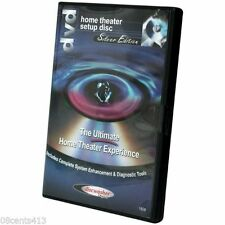 The Ultimate Home Theater Experience Setup Disc (DVD) Silver Edition