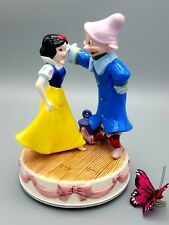 Disney Snow White Dopey Music Box Schmid Classics One Day My Prince Will Come