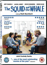 THE SQUID AND THE WHALE JEFF DANIELS LAURA LINNEY OWEN KLINE SONY UK RG2 DVD NEW