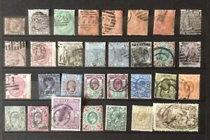 GB. Q Victoria - George V general mint & used selection.