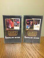 1990-1991 Skybox Basketball Series 1 Factory Sealed 2 Boxes (36 Packs Per Box)