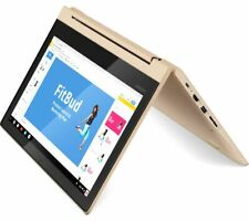 "LENOVO C330 11.6"" MediaTek Chromebook - 32 GB eMMC Gold - Currys"