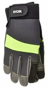 Gloves From Gardening Padded (Size L) Ryobi RAC811L Touch Screen