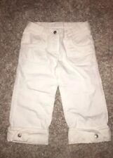Gymboree white Capri Jeans denim Size 7