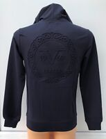 VERSACE 1969 Navy Hooded Full Zip Track Top Jacket Hoodie Size XXL BNWT