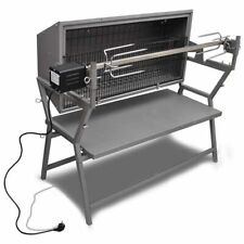 Draaispit barbecue ijzer en roestvrij staal rotisserie grill roterend spit