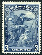 Canada 1934 Commemorative Issue 3¢ Cartier Scott #208 MNH M178