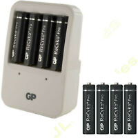 GP charger and 8 x AA Recyko+ PRO 2000 mAh rechargeable batteries 2000mAh