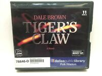 Tiger's Claw by Dale Brown (2012, CD, Unabridged) 11 discs
