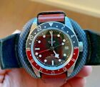 Tudor Black Bay GMT PEPSI + Original NATO and Leather Strap Included