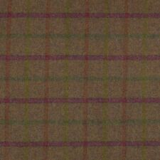 Moon Balvaird Grape 100 Wool Tartan Fabric Our