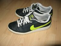 WORN ONCE BOYS MENS GREY NIKE LEATHER TRAINERS SNEAKERS SIZE 7 UK 41 EU 7.5 US