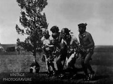 1900/72 Vintage Matted EDWARD CURTIS Native American Indian ARIKARA Photo 14X11