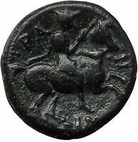 KRANNON in THESSALY 350BC Poseidon Horseman Authentic Ancient Greek Coin i55480