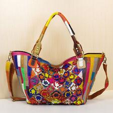 Womens Genuine Leather Handbag Totes Fashion Designer Messenger Bag Shoulder Bag