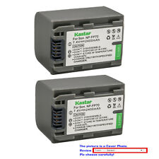 Kastar Replacement Battery Pack for Sony NP-FP70 NP-FP71 Sony DCR-DVD103 DVD103