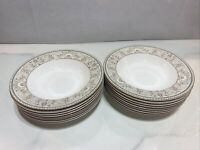 Christopher Stuart Optima Newport Super Strong China Dinnerware bowl (16 set)