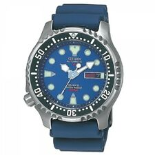 Citizen Promaster Marine Automatik Uhr Taucheruhr 20 BAR Blau NY0040-17LE