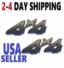 💵 X2 Black 4 X 4 Smoked EMBLEM 4X4 CAR TRUCK FORD LOGO DECAL SIGN ornament .1