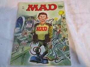 MAD MAGAZINE U.K. EDITION No 169 MAD SCIENTIST