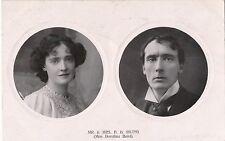 POSTCARD  ACTRESSES  Dorothea  Baird  &  Husband