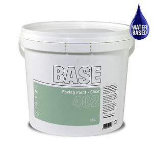 Paving Paint Clear 5L UV Stable Water Based for paths, tiles, balconies & more