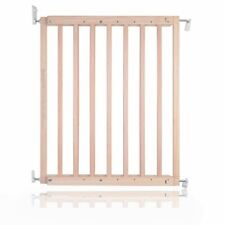 More details for safetots chunky wooden screw fit baby safety stair gate 63.5cm - 105.5cm