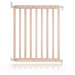 Safetots Chunky Wooden Screw Fit Baby Safety Stair Gate 63.5cm - 105.5cm