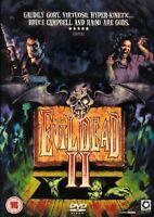EVIL DEAD II 2 DEAD BY DAWN BRUCE CAMPBELL SAM RAIMI OPTIMUM UK REGN 2 DVD L NEW