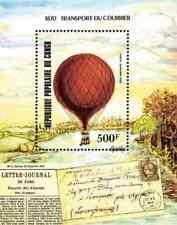 Timbre Ballons Congo BF34 ** lot 11172