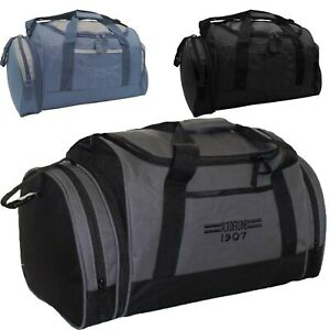 Men's Large Sports Gym Bag Duffle Holdall Travel Sports Work Cabin Luggage Case