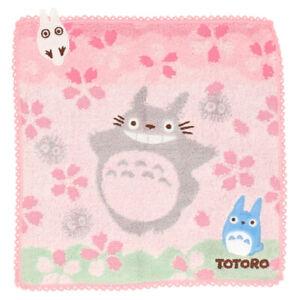 My Neighbor Totoro mini Towel SAKURA Studio Ghibli Japan