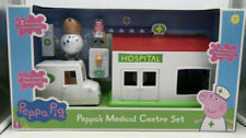 Peppa Pig Toy Playset Figures - Peppa's Medical Centre Set Brand NEW