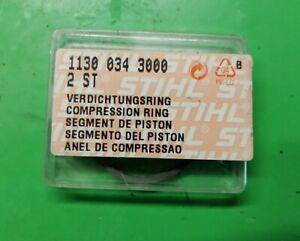 Kolbenringe Verdichtungsringe orginal Stihl 017 MS 170  Neu!!