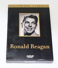 New & EUC Hollywood Classics Double Feature Ronald Reagan Movie 2 DVD Set