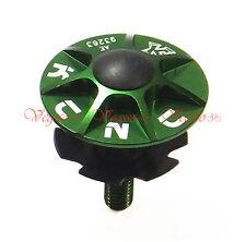 """NEW KCNC HEADSET TOP CAP SCREW STAR NUT KIT 1-1/8"""" MTB ROAD, GREEN"""