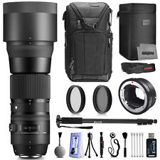 Sigma 150-600mm F5-6.3 DG OS HSM Zoom Lens for Sony with Filter Accessory Kit