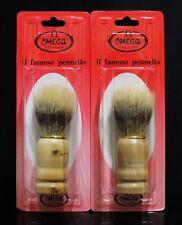 2x Shaving Brush Badgers Hair Removal Beard Shaving Brush For Men Wood Handle