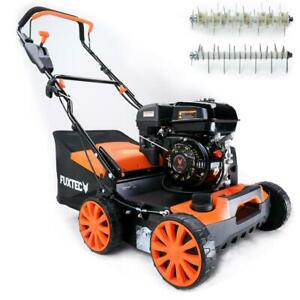 FUXTEC Benzin Vertikutierer 212ccm 4kW (5,44PS) 3in1 Rasenlüfter Moosentferner