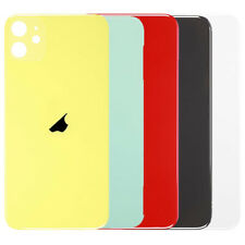 iPhone 11 Rear Back Glass Battery Cover Big Camera Hole Easier Fitting LOGO