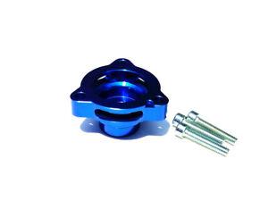 DFJ Turbo Blow Off Valve Adapter BOV Blue VW GTI Golf Mk7 Mk7.5 / Jetta A3 1.8T