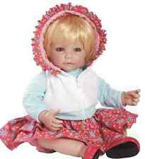 TICKLED PINK - ADORABLE HIGH QUALITY PLAY DOLL FROM ADORA- EU SAFETY CONFORM-NEW